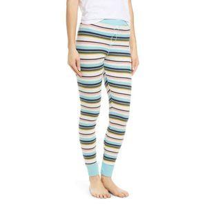 BP Thermal Leggings Pajama Pants XS Multicolor